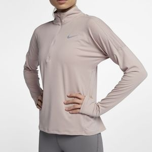 Nike Dri-fit Running Half Zip Activewear Top